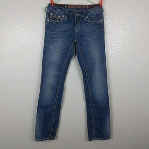Rock Revival Aisha Straight Jeans. Size 27